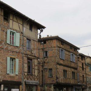 Bâtiments anciens à Châtillon-sur-Chalaronne